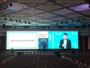 เช่าจอ LED_HPE Innovation Summit 2017