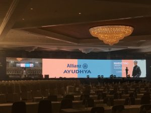 เช่าจอ LED_งาน AYUDHYA Allianz agency leader seminar 2018